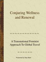 conjuring wellness and renewal