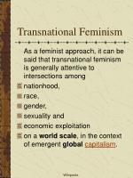 transnational feminism