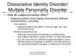 dissociative identity disorder multiple personality disorder40