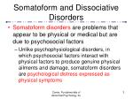somatoform and dissociative disorders3