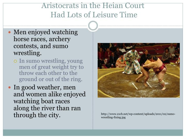 Aristocrats in the Heian Court