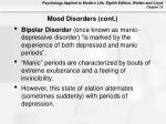mood disorders cont32