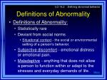 definitions of abnormality3