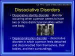 dissociative disorders19