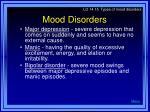 mood disorders23