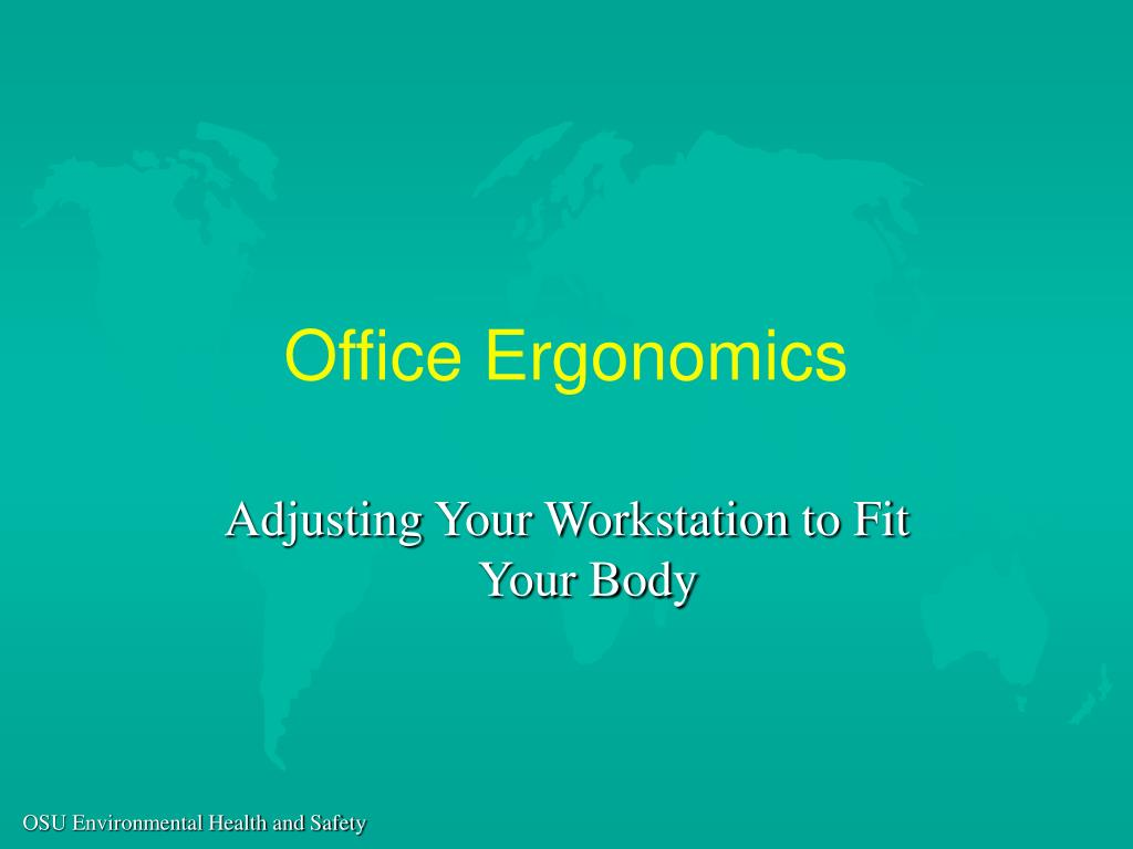 office ergonomics l.
