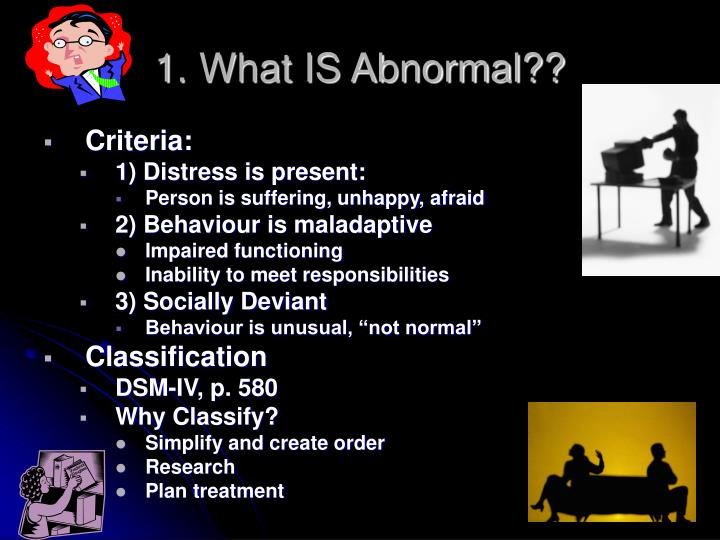 1 what is abnormal