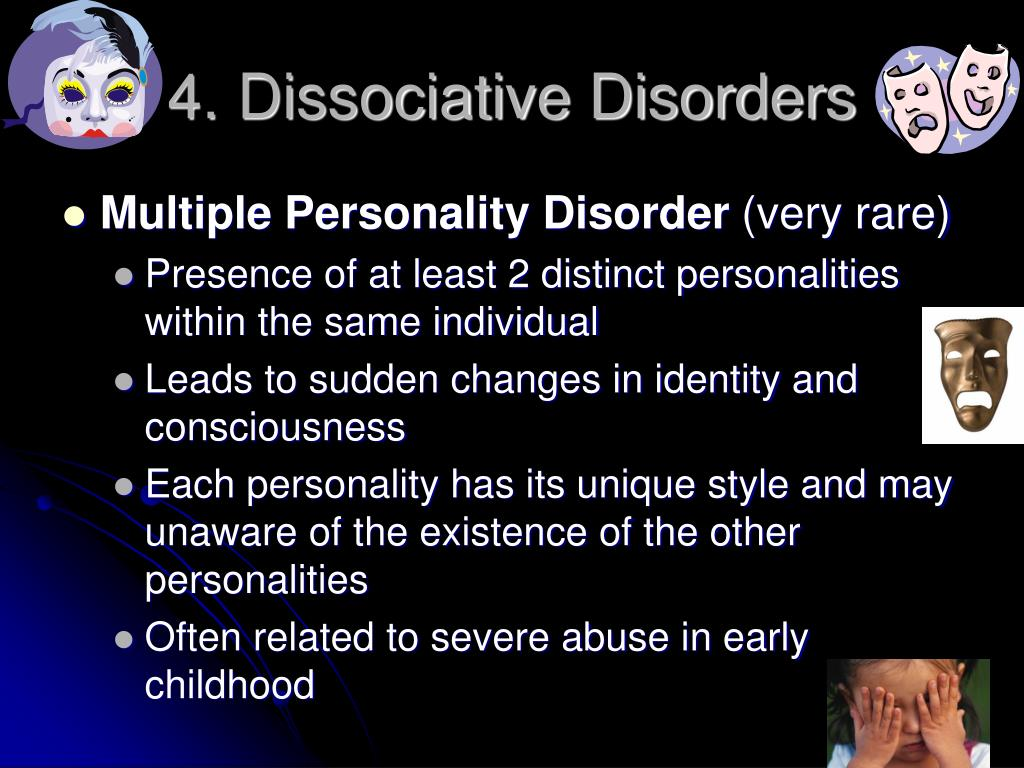 4. Dissociative Disorders