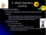 5 mood disorders cont d