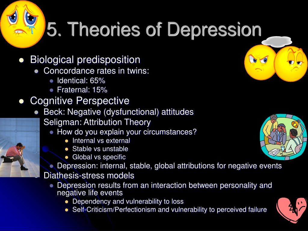 5. Theories of Depression
