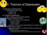 5 theories of depression