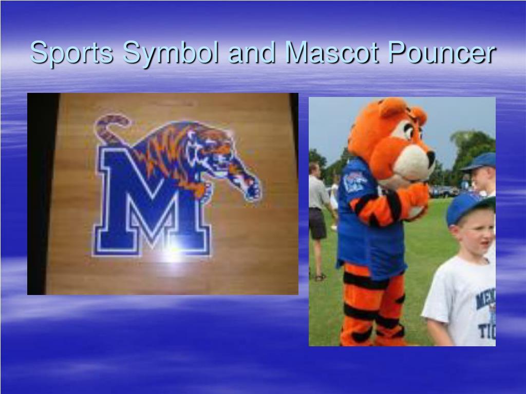 Sports Symbol and Mascot Pouncer