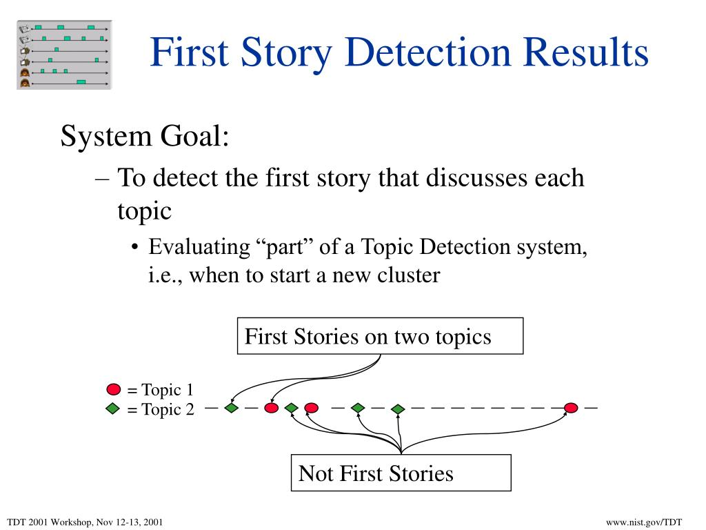 First Stories on two topics