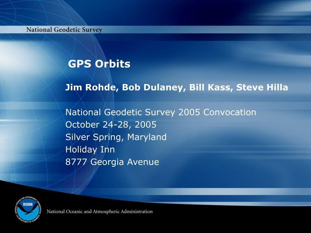 gps orbits l.