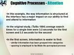 cognitive processes attention14