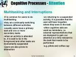 cognitive processes attention15