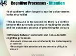 cognitive processes attention21