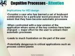 cognitive processes attention22