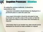 cognitive processes attention24