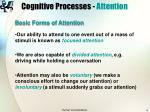 cognitive processes attention6