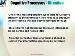 cognitive processes attention9