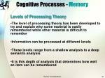 cognitive processes memory33