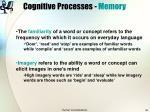 cognitive processes memory35