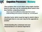 cognitive processes memory37