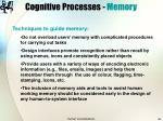 cognitive processes memory40
