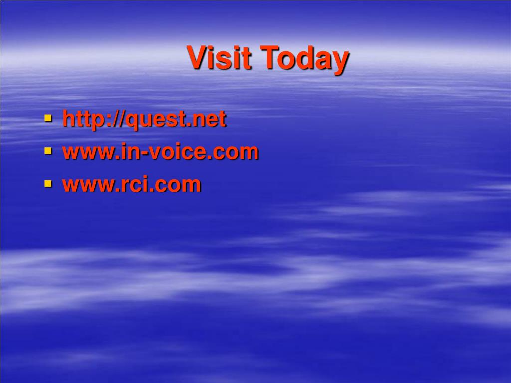 Visit Today