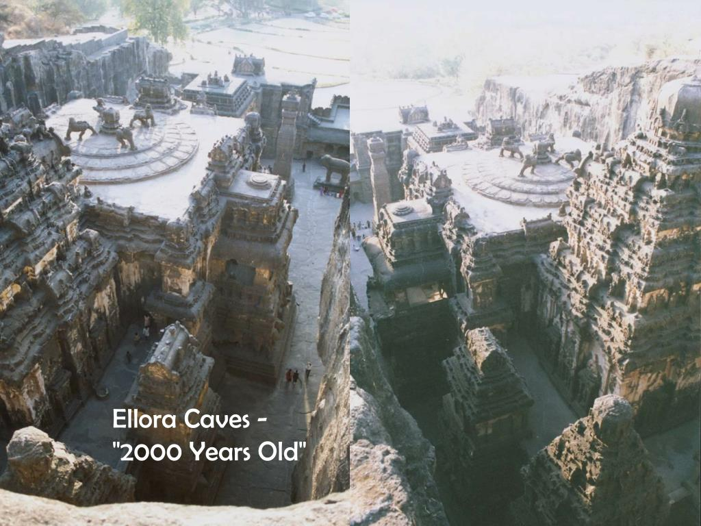 """Ellora Caves -  """"2000 Years Old"""""""