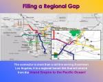 filling a regional gap