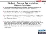 ebbsfleet time and cost implications notes on calculations