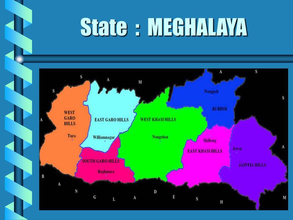 State  :  MEGHALAYA