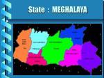 state meghalaya