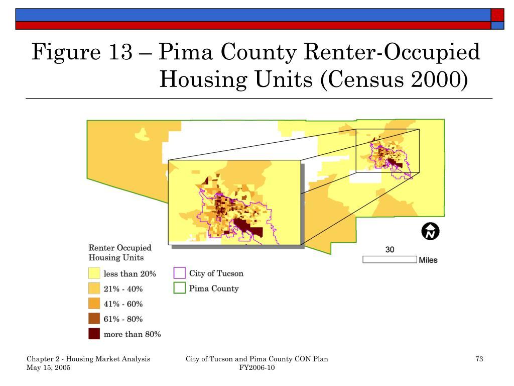 Figure 13 – Pima County Renter-Occupied     Housing Units (Census 2000)