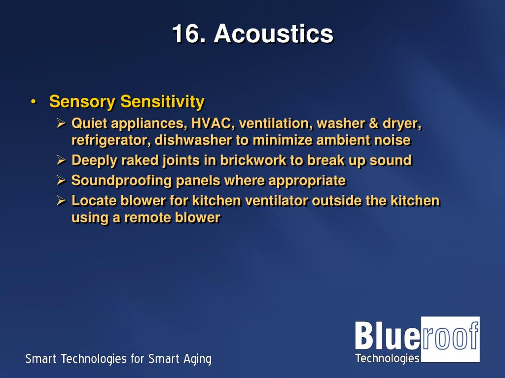16. Acoustics
