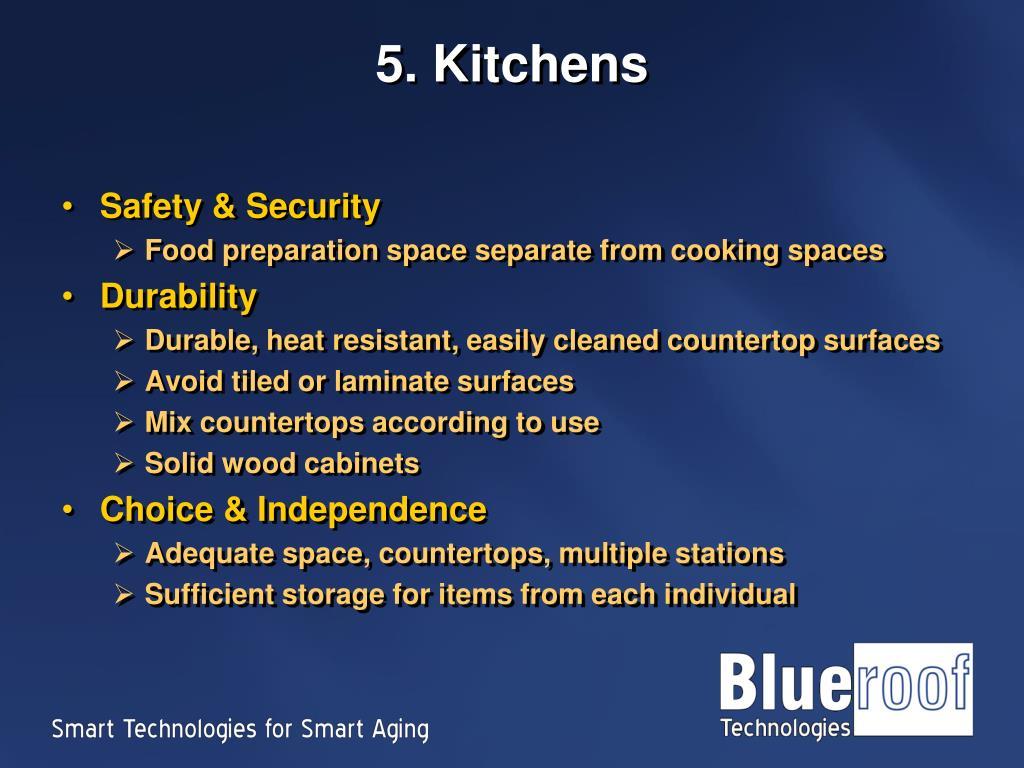 5. Kitchens
