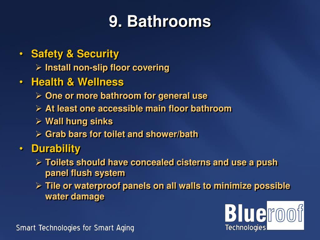 9. Bathrooms