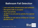 bathroom fall detection