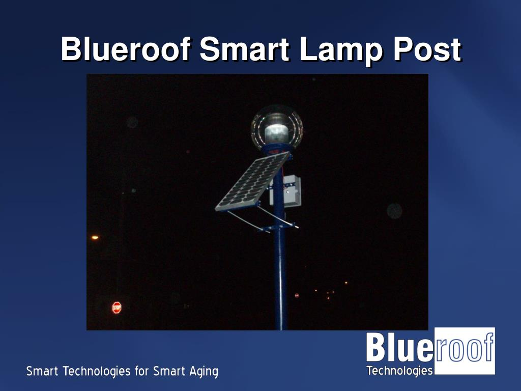 Blueroof Smart Lamp Post