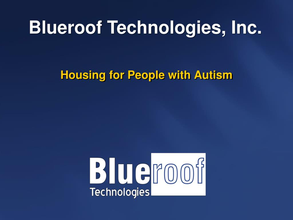 housing for people with autism l.
