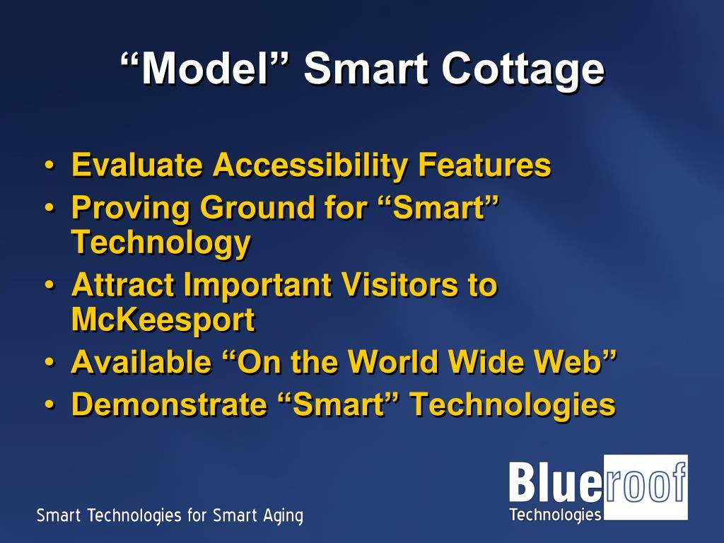 """""""Model"""" Smart Cottage"""