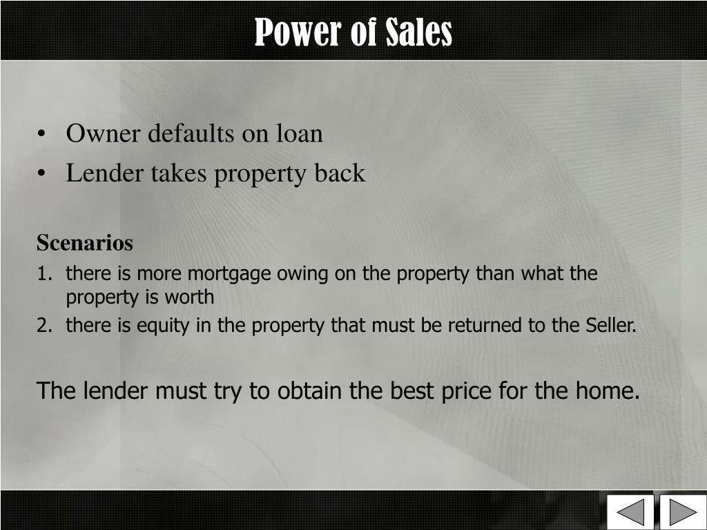 Power of Sales