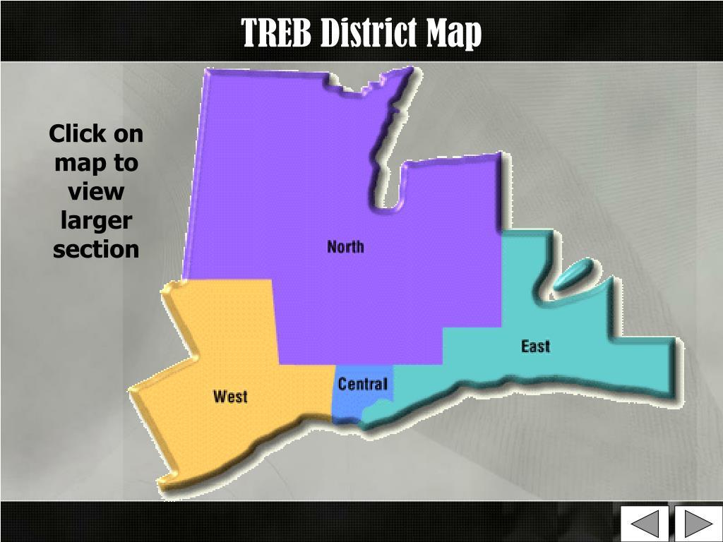 TREB District Map