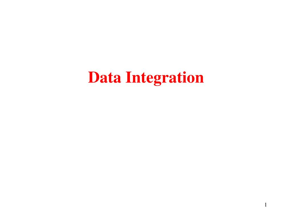 data integration l.