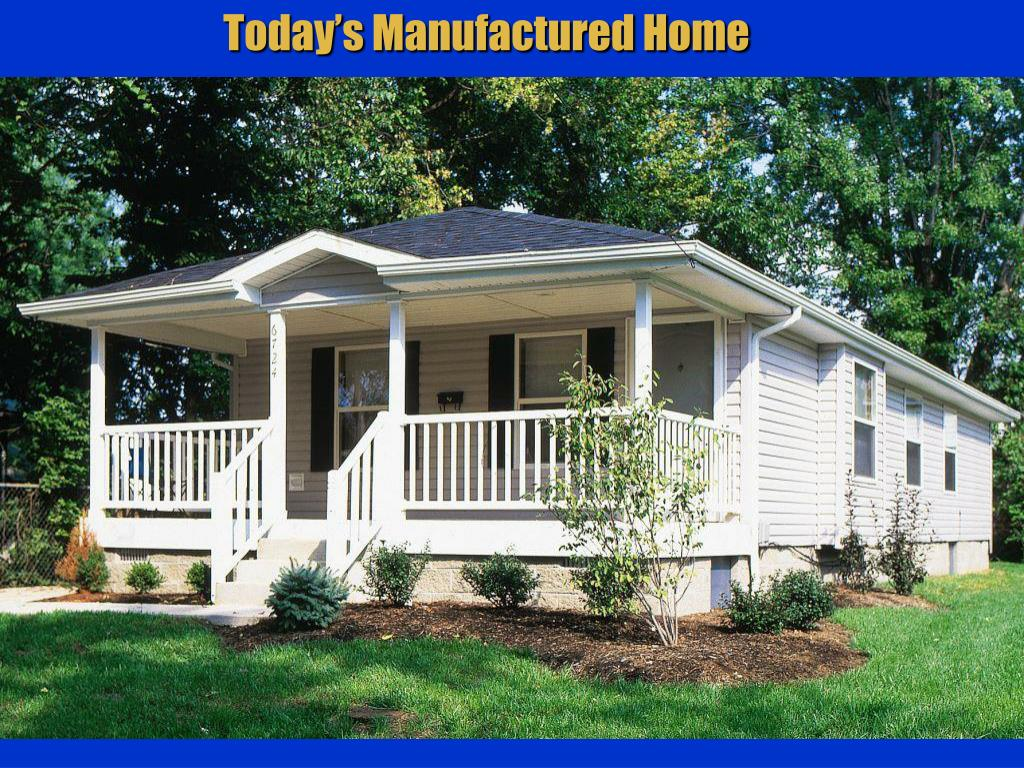 Today's Manufactured Home