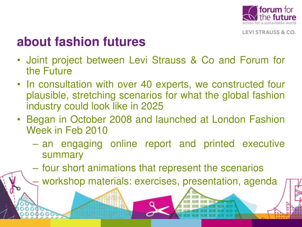 about fashion futures