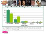 are you interested in attending another air jamaica jazz