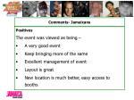 comments jamaicans